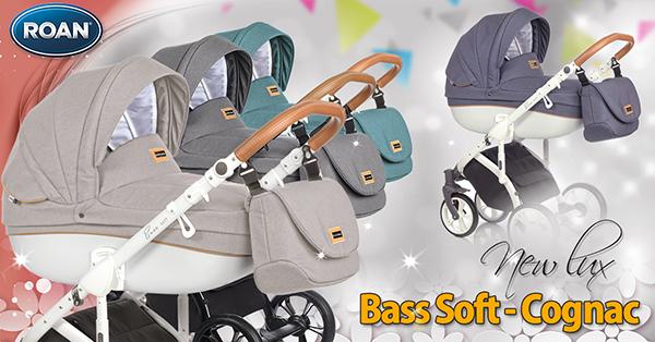 Бебешка количка Bass Soft - Roan