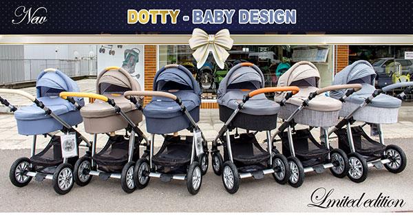 Бебешки колички Dotty - Baby Design