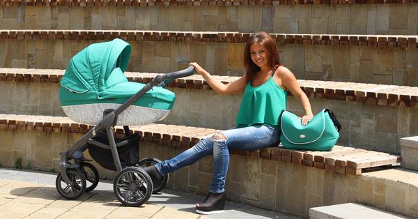 Бебешка количка Bass - Roan