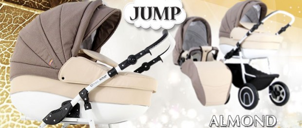 Бебешка количка Jump Almond