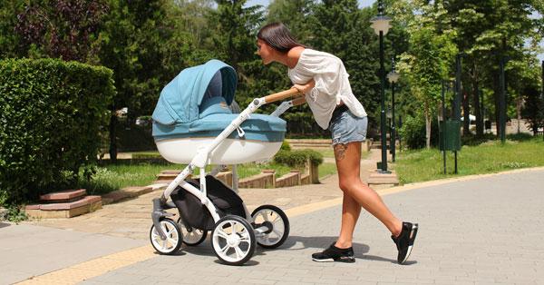 Бебешки колички Bass Soft - Roan