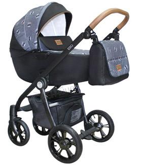 Бебешка количка Esso Raccoon с кош за новородено