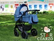 Бебешка количка Star синя